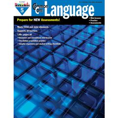 NEWMARK LEARNING COMMON CORE PRACTICE LANGUAGE GR 5 BOOK