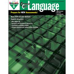 NEWMARK LEARNING COMMON CORE PRACTICE LANGUAGE GR 6 BOOK