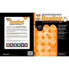 COMMON CORE READING GR 3 WARMUPS & TEST PRACTICE