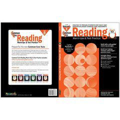 NEWMARK LEARNING COMMON CORE READING GR 8 WARMUPS & TEST PRACTICE