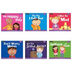 NEWMARK LEARNING MYSELF READERS 6PK I HAVE FEELINGS SMALL BOOK