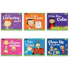 NEWMARK LEARNING MYSELF READERS 6PK I AM IN CONTROL OF MYSELF SMALL BOOK