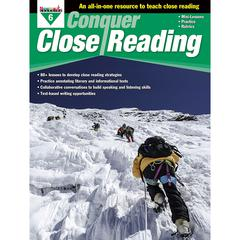 NEWMARK LEARNING CONQUER CLOSE READING GR 6