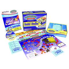 NEW PATH LEARNING MASTERING SOCIAL STUDIES SKILLS GAMES CLASS PACK GR 3