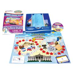 NEW PATH LEARNING MASTERING SOCIAL STUDIES SKILLS GAMES CLASS PACK GR 4