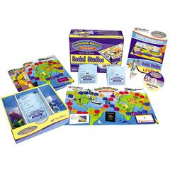 NEW PATH LEARNING MASTERING SOCIAL STUDIES SKILLS GAMES CLASS PACK GR 6