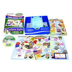 NEW PATH LEARNING MASTERING SOCIAL STUDIES SKILLS GAMES CLASS PACK GR 7
