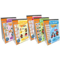 EARLY CHILDHOOD ELA SET OF 5 READINESS FLIPCHARTS