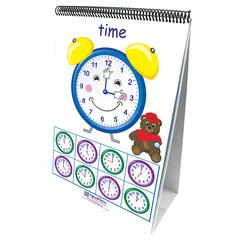 TIME SENSE 10 DOUBLE SIDED CURRICULUM MASTERY FLIP CHARTS