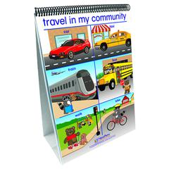 MY COMMUNITY EARLY CHILDHOOD SOCIAL STUDIES READINESS FLIP CHART
