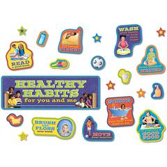 NORTH STAR TEACHER RESOURCE HEALTHY HABITS BB SET - 38 PIECES