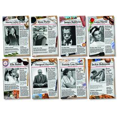NORTH STAR TEACHER RESOURCE CIVIL RIGHTS PIONEERS BB SET