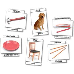 BASIC VOCABULARY LANGUAGE CARDS