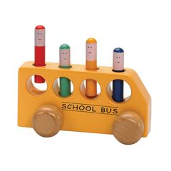 THE ORIGINAL TOY POP UP SCHOOL BUS