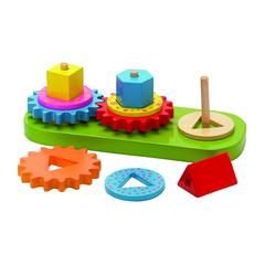 THE ORIGINAL TOY GEO BLOCKS & GEARS