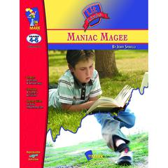 ON THE MARK PRESS MANIAC MAGEE LIT LINK GR 4-6