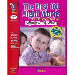 ON THE MARK PRESS FIRST 100 SIGHT WORDS