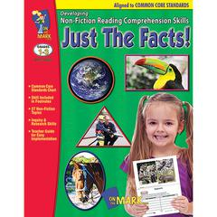 ON THE MARK PRESS JUST THE FACTS GR 1-3 DEVELOPING NON FICTION READING COMP SKILLS