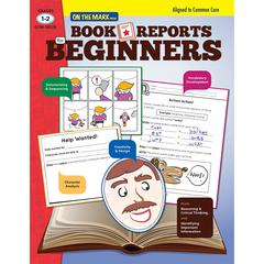 ON THE MARK PRESS BOOK REPORTS FOR BEGINNERS GR 1-2