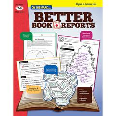 ON THE MARK PRESS BETTER BOOK REPORTS GR 7-8