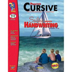 ON THE MARK PRESS SAILING THROUGH HANDWRITING PRACTICE CURSIVE