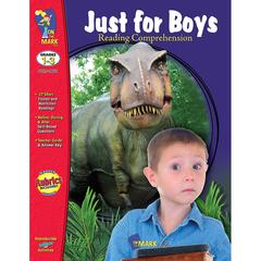 JUST FOR BOYS READING COMPREHENSION GR 1-3