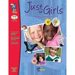 ON THE MARK PRESS JUST FOR GIRLS READING COMPREHENSION GR 1-3
