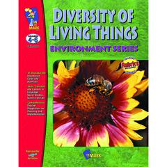 ON THE MARK PRESS DIVERSITY OF LIVING THINGS GR 4-6