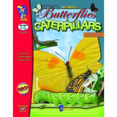 ON THE MARK PRESS ALL ABOUT BUTTERFLIES CATERPILLARS