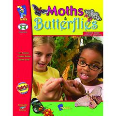 ON THE MARK PRESS MOTHS AND BUTTERFLIES GR 3-4