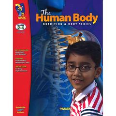 ON THE MARK PRESS THE HUMAN BODY GR 2-4