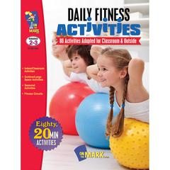 ON THE MARK PRESS DAILY FITNESS ACTIVITIES GR 2-3