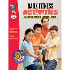 ON THE MARK PRESS DAILY FITNESS ACTIVITIES GR 7-8