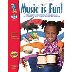 ON THE MARK PRESS MUSIC IS FUN GR PK-1