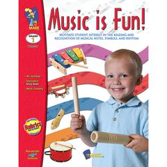 ON THE MARK PRESS MUSIC IS FUN GR 1