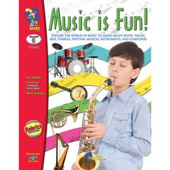 ON THE MARK PRESS MUSIC IS FUN GR 6
