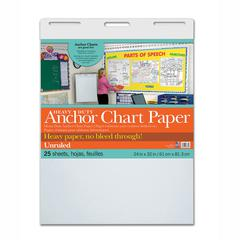HEAVY DUTY ANCHOR 24X32 UNRULED CHART PAPER