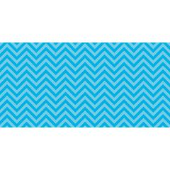 FADELESS 48X50 AQUA CHEVRON DESIGN ROLL