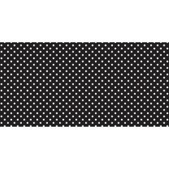 FADELESS 48X50 CLASSIC DOTS BLACK AND WHITE DESIGN ROLL