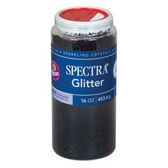 PACON GLITTER 16 OZ BLACK