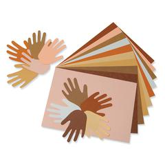 """Pacon Multicultural Construction Paper - Art, Craft - 18"""" x 12"""" - 50 / Pack - Assorted"""