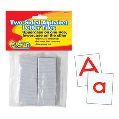 PRIMARY CONCEPTS TWO-SIDED ALPHABET LETTER TILES