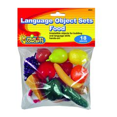 PRIMARY CONCEPTS LANGUAGE OBJECT SETS FOOD