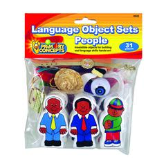 LANGUAGE OBJECT SETS PEOPLE