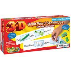 3-D SIGHT WORD SENTENCES GRADE 2 LEVEL DOLCH WORDS