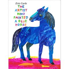 PENGUIN RANDOM HOUSE THE ARTIST WHO PAINTED A BLUE HORSE BOOK