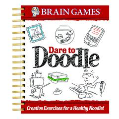 PUBLICATIONS INTERNATIONAL BRAIN GAMES DARE TO DOODLE ADULT