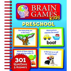 HACHETTE BOOK GROUP BRAIN GAMES KIDS PRESCHOOL