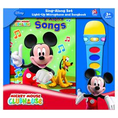 HACHETTE BOOK GROUP BOOK BOX AND MODULE MICKEY MOUSE CLUBHOUSE MICROPHONE