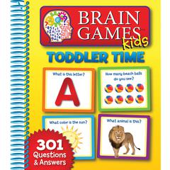 HACHETTE BOOK GROUP BRAIN GAMES KIDS TODDLER TIME